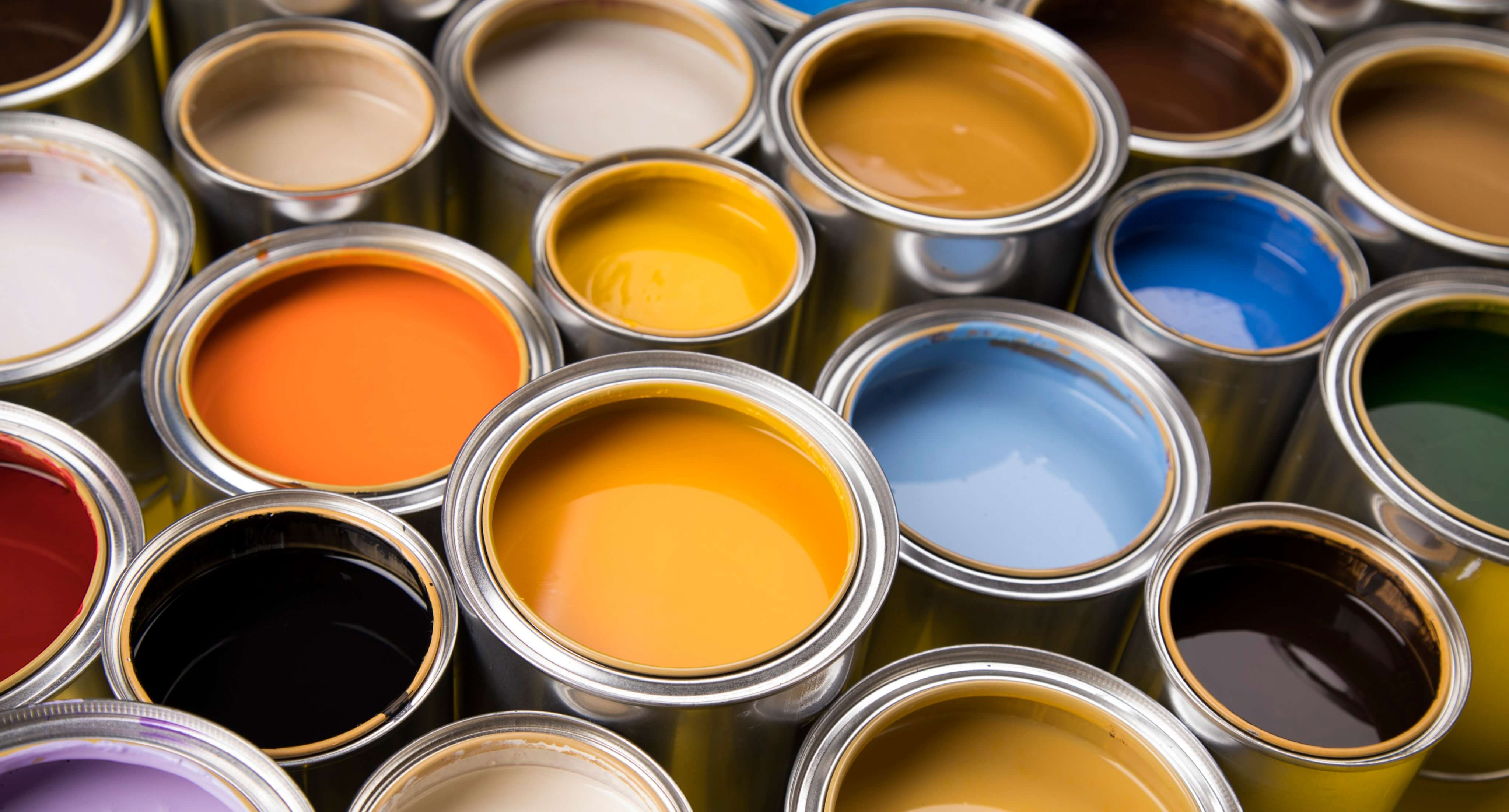 Interior paint trends of 2021 paint cans