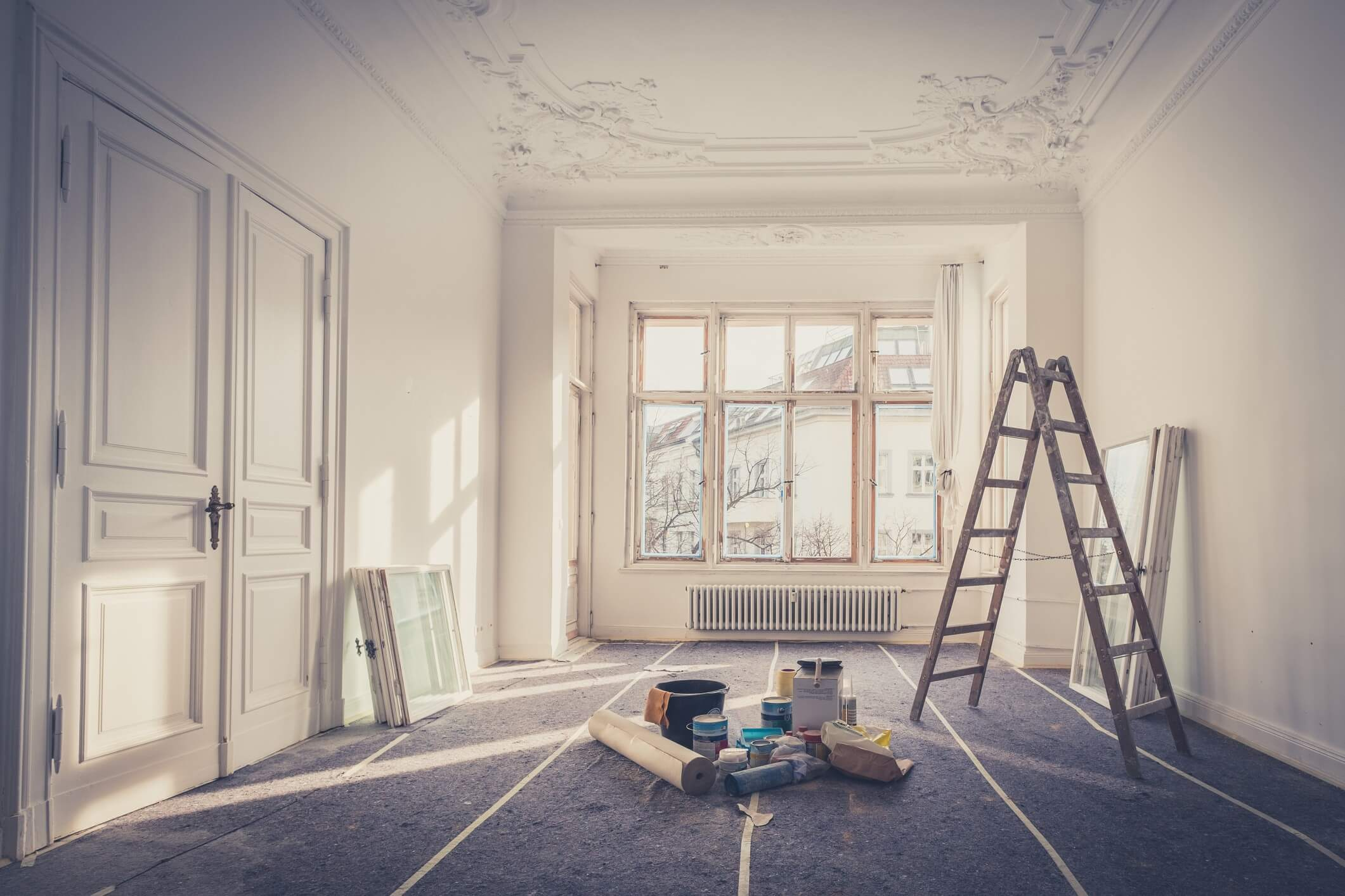 Get Rid of Winter Blues with Interior House Painters in Edmonton
